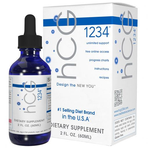 hcg 1234 1 bottle and box